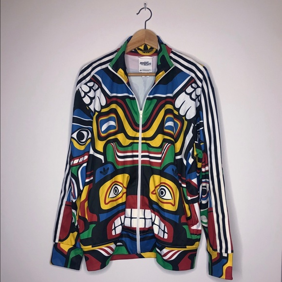 Jeremy Scott x Adidas Other - Jeremy Scott x Adidas Originals Totem Eagle  Jacket 6937a7f0f